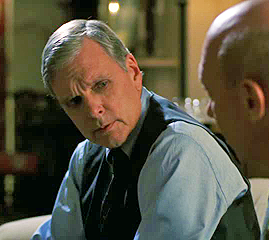 Keir Dullea as Judge Walter Thornburg in Episode 3X19 Justice of Law & Order: Special Victims Unit with Dann Florek