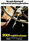 2001: A Space Odyssey Official poster @keirdullea.org