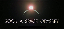 2001: A Space Odyssey Title Screen @ keirdullea.org