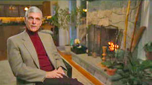 Keir Dullea at home in Connecticut